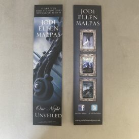 One Night Unveiled Bookmark