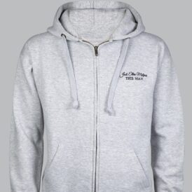 This Man Zip Up Hoodie