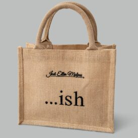 Small Jute Shopper Bag  …ish