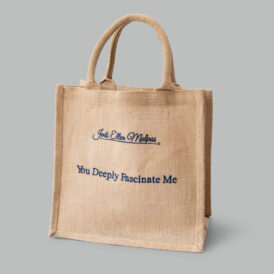 One Night Medium Jute Bag – You Deeply Fascinate Me