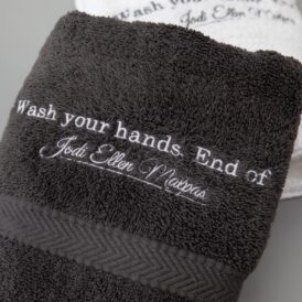 This Man Hand Towel (grey)