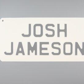 Josh Jameson Vintage Pressed Wall Plate