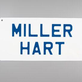Miller Hart Vintage Pressed Wall Plate