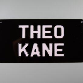 Theo Kane Vintage Pressed Wall Plate
