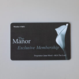 Membership To The Manor
