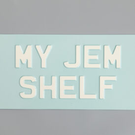 My JEM Shelf Vintage Pressed Wall Plate