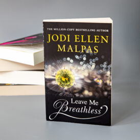 Leave Me Breathless Autographed Paperback (UK Edition)