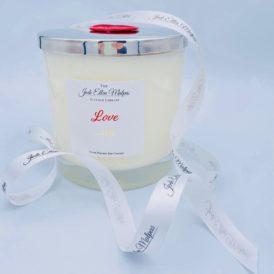 BIG Love . . . Ish Handmade Soy Blend Candle & Gift Box