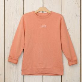 Rose Organic Cotton Lightweight Sweater