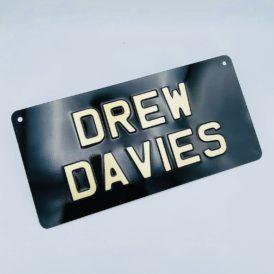 Drew Davies Vintage Pressed Wall Plate