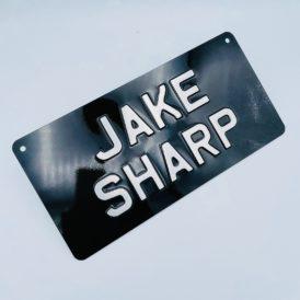 Jake Sharp Vintage Pressed Wall Plate