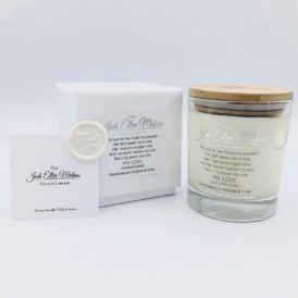 LUXE Edition – THEO'S POEM Gentlemanly Ginger & Lime Handmade Soy Blend Candle