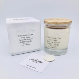 LUXE Edition – EVERYTHING Peony Princess Handmade Soy Blend Candle