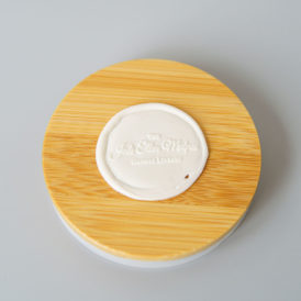 Original Quote Candle Wooden Candle Lid
