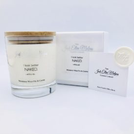 LUXE Edition – NAKED Wickedly Wild Fig & Cassis Handmade Soy Blend Candle