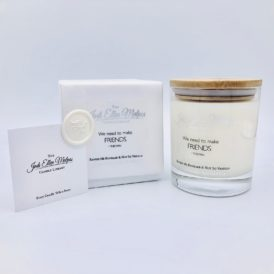 LUXE Edition – FRIENDS Ravish Me Rhubarb & Not So Vanilla Handmade Soy Blend Candle