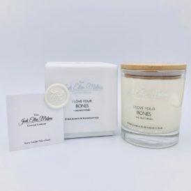 LUXE Edition – BONES Pure Jasmin & Honeysuckle Handmade Soy Blend Candle
