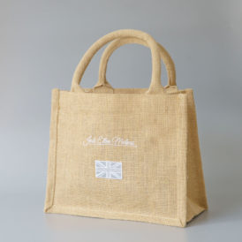 The Brit Mini Jute Shopper Bag