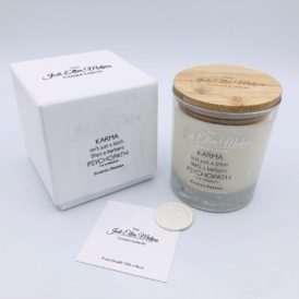 LUXE Edition – KARMA Fateful Freesia Handmade Soy Blend Candle