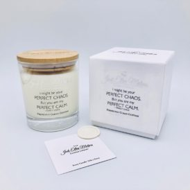 LUXE Edition – PERFECT Perfectly Clean Cotton Handmade Soy Blend Candle