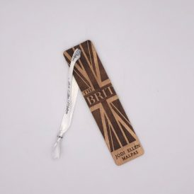 The Brit Autographed Wooden Bookmark