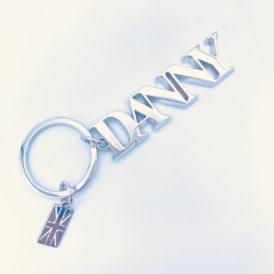 DANNY Silver Keychain