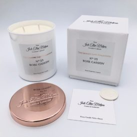 LUXE Edition – Nº23 Rose Cassidy Handmade Soy Blend Candle