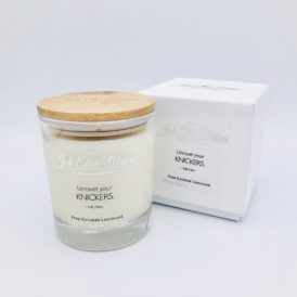 LUXE Edition – KNICKERS Pink Knicker Lemonade Handmade Soy Blend Candle