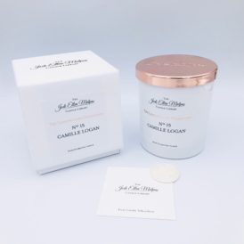 LUXE Edition – Nº15 Camille Logan Handmade Soy Blend Candle